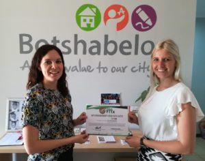 Kiklo sponsors Botshabelo's Connectivity